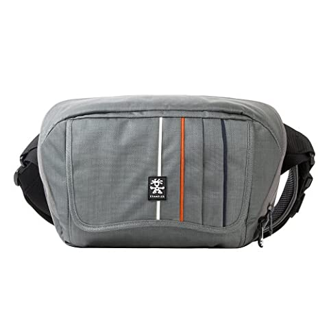 Crumpler Jackpack 1500 DSLR Foto Umhängetasche 5500 Gris Souris/ Orange