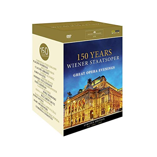 150 Years Wiener Staatsoper - Great Opera Evenings [11 DVDs]