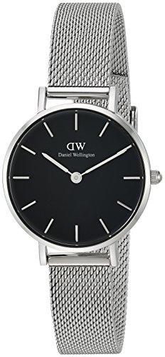 Daniel Wellington Damen Analog Quarz Uhr mit Edelstahl Armband DW00100218