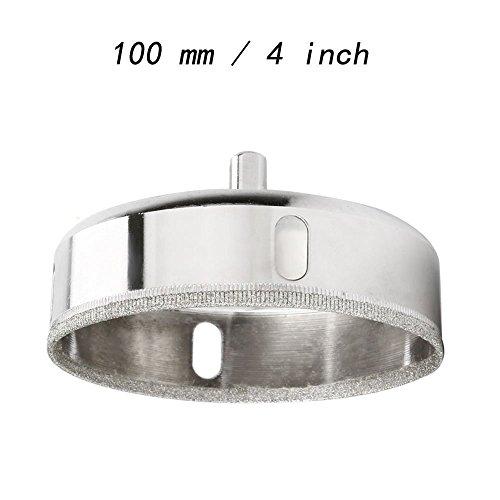 vzer 100mm Diamant-Lochsäge Tile Keramik Glas Porzellan Marmor Bohrer Werkzeug