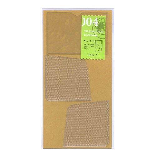 Midori Traveler's Notebook (refill 004) card/note holder by Midori