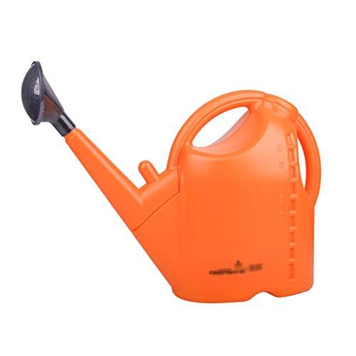 Wddwarmhome L'arrosage tenu dans la main de jardin d'arrosage orange de pot de arrosage de grande capacité de 9L épaissit la bouteille de jet