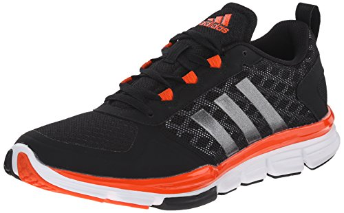 Adidas Performance Speed â??â??Trainer 2 Formazione scarpe, nero / carbonio metallizzato / Oro colle Black/Carbon Metallic/Collegiate Orange