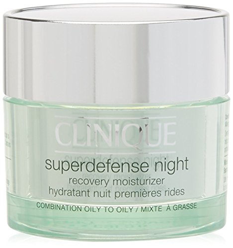 Clinique Superdefense Night Crema de Noche para Pieles Mixtas o Grasas.
