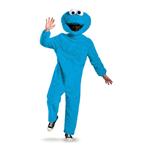 Unisex Adult Prestige Cookie Monster Fancy dress costume X-Large