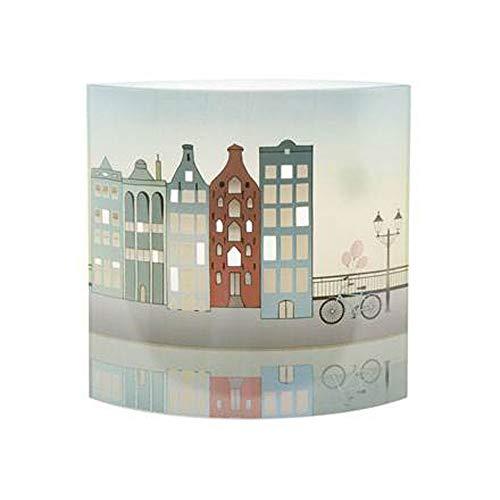 Goebel Downtown Riverside - Lampe Scandic Home Scandic Home Wohnaccessoires Bunt Glas 23100531