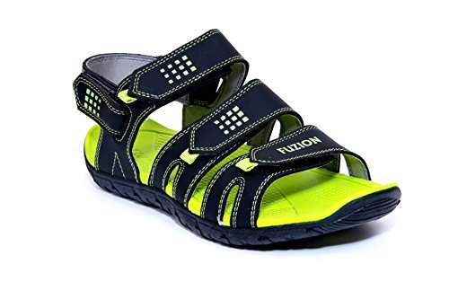 Fuzion Men's Green Sandal - 7 UK  available at amazon for Rs.499