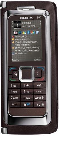 Nokia E90 Communicator Smartphone (UMTS, GPS, Quick-Office, MP3-Player, Kamera mit 3,2 MP) black -