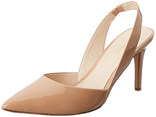 Nine West Rollover pompa Dress sintetico Natural synthetic