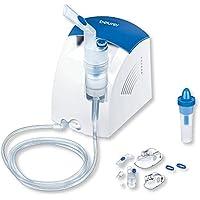 Inalatore e doccia nasale Beurer IH 26 con compressore: per il trattamento di malattie respiratorie come raffreddore e bronchite
