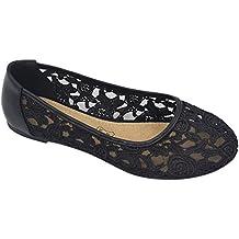 brand new 283aa e617c Suchergebnis auf Amazon.de für: schwarze ballerinas mit ...