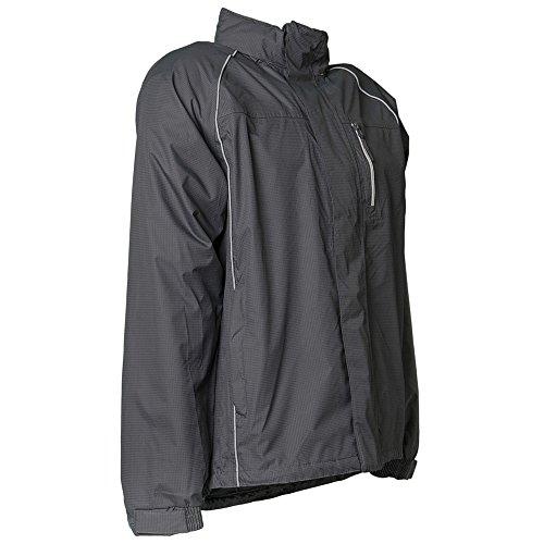 Planam Monsun-Jacke Arbeitsjacke Grau