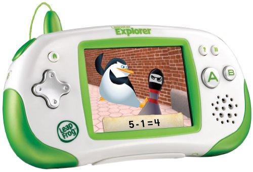 Leapster Leap Frog Multimedia Lernsystem 4-10Jahre mit 3 Spielen Grün Kindercomputer