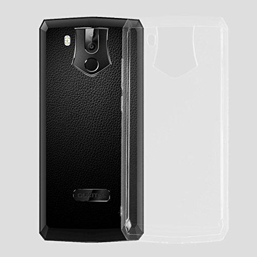 cookaR Oukitel K10 hülle transparent Handyhülle, Ultra Dünn Soft Silikon Crystal Clear Schutzhülle für Oukitel K10 case Cover. Oukitel K10 case Cover(transparent)