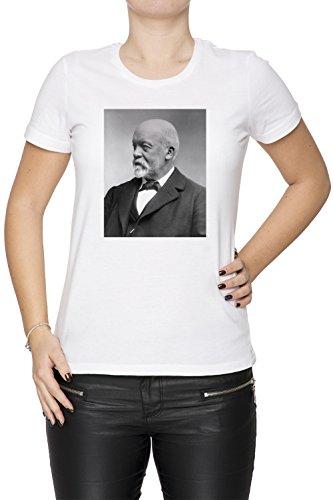gottlieb-daimler-blanco-algodon-mujer-camiseta-manga-corta-cuello-redondo-mangas-white-womens-t-shir
