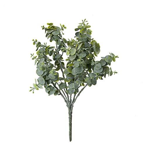 Rifuli? Kunstblumen Deko Wohnzimmer Simulationsbetriebs-kleine Eukalyptus-Grün-Blatt-Geld-Blatt-Inneneinrichtung