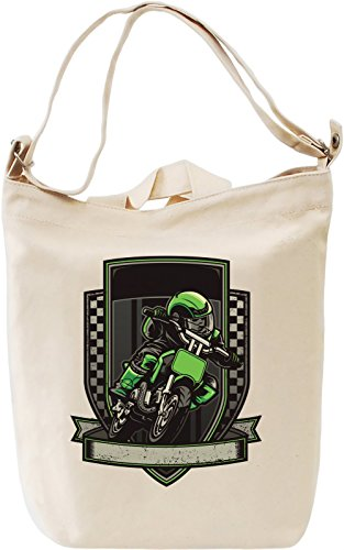 Green racer Leinwand Tagestasche Canvas Day Bag| 100% Premium Cotton Canvas| DTG Printing|