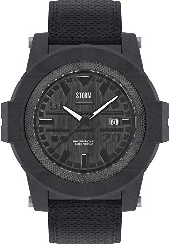 Storm London RAVEN BLACK 47330/BK Orologio da polso uomo Cassa solida