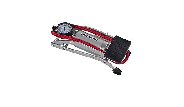 Pompa a pedale Pompa ad aria per einzylinder 7/bar manometro Pompa a piede Ball pompa
