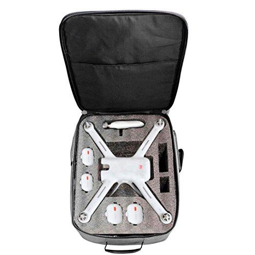 Stoßfestes Rucksack-im Freien wasserdichte Schulter-Beutel-weiche Tragetasche für XIAOMI Mi Drone 4K 1080P FPV RC Quadcopters (Grau)