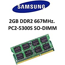 Samsung 2GB DDR2667MHz PC2–5300200pin So DIMM notebook Memoria RAM 3rd Memory