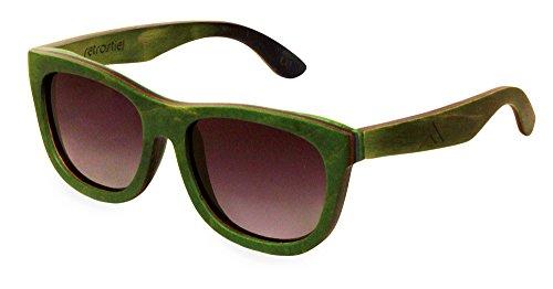 Holz Sonnenbrille Skateboard Ramble