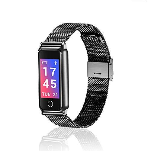 RUIMA Neues Ganzmetall-wasserdichtes Bluetooth-Smart-Armband Sportmesser Herzfrequenz Blutdruck...