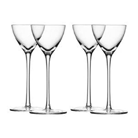 LSA International 100 ml Bar Liqueur Glass, Clear (Pack of 4)