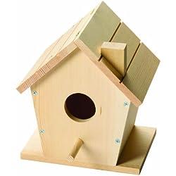 Red Toolbox - Casa para pájaros (madera, 18 x 13 x 21 cm)