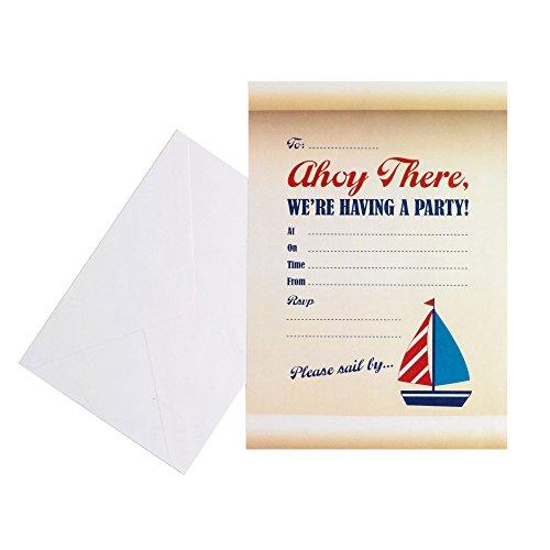 Neviti 598861 Ahoy There - Invitaciones