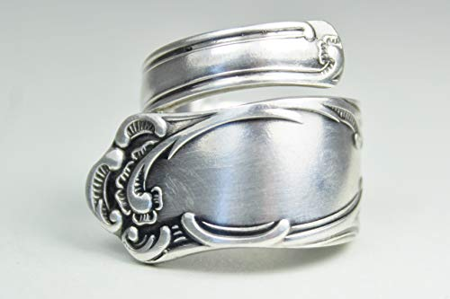 Rokoko Besteckschmuck Ring, ca. 60 (19,3) Ring aus Besteck