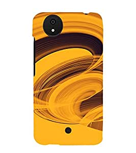 PrintVisa Twister Pattern 3D Hard Polycarbonate Designer Back Case Cover for Micromax Canvas Android A1