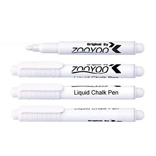 Papamsy Kreidestift mit radierbarer Kreide, weiß, flüssig, Schreibwaren, Schreibwaren, Werkzeug -