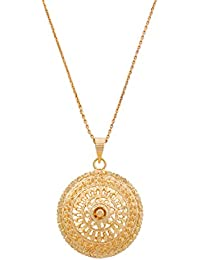 BFC- Buy For Change Traditional One Gram Gold Plated Pendant With 18 Inches Chain