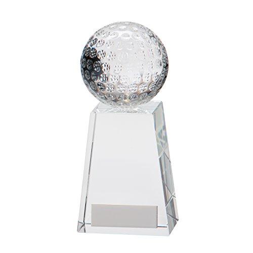 Crystal Voyager Golf Ball Trophäen, 9,5 cm (3,75 Zoll)