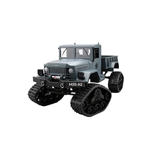 Fernbedienung Spielzeug LKW, Klettern Off-Road-Crawler Fernbedienung Auto Schnee Wi-Fi HD-Kamera Echtzeit-Übertragung Erwachsenenspielzeug Kindergeschenke,Blue -