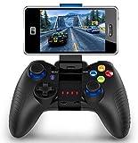 Mobiler Gamecontroller, PowerLead PG8710 Gaming Controller, Bluetooth 4.0 Wireless Gamepad Hervorragend geeignet für PUBG & Fotnite & More. Unterstützt iOS Android iPhone iPad Samsung...