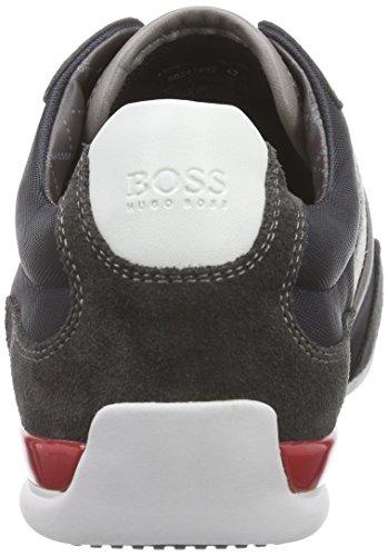 BOSS Green Spacit 10167195 01, Sneakers Basses Homme Bleu (dark Blue 409)