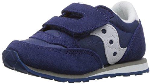 Saucony Boy's BABY JAZZ HL Shoe, BLUE, 10 Wide US Toddler (-, Schuhe Kleinkind Saucony)