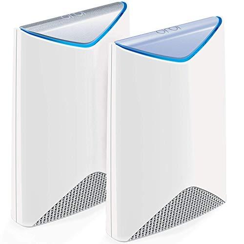 Netgear SRK60 Orbi Pro 2 unità WiFi Mesh, copertura negozi, bar e uffici fino a 350 mq e 80 dispositivi collegati, sostituisce gli AP
