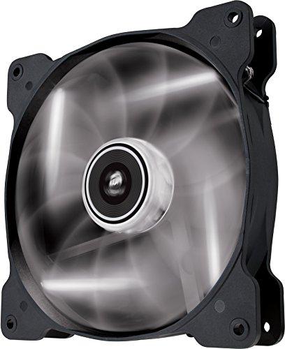 Foto Corsair SP140 LED Ventola da 140 mm, Illuminazione LED Bianco, Confezione...