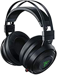 Razer Nari - Wired/Wireless Gaming Headset with THX Spatial Audio, Cooling Gel Cushion, 2.4 GHz Wireless Audio