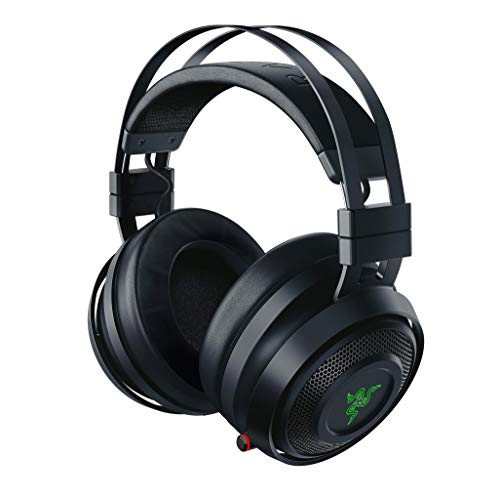 Razer Nari - Kabelloses Gaming Headset (Wireless Gaming Headset mit THX Spatial Audio 360°, Schwarz für PC, PS4, Xbox One & Switch
