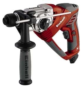 Einhell RT-RH 20 4-Funktions-Bohrhammer, 600 W, Schlagzahl 5.800 min-1, Schlagstärke 1.8 J, SDS-Plus, Schlag- Drehstop, im Koffer