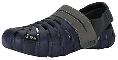 Globalite Men's Sandals Parko III Navy Grey GEC0164