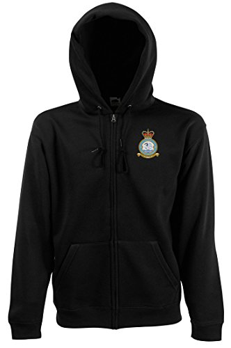 No. 564 Flight - RAF Helicopters Official Royal Air Force RAF Zipped Hoodie By Military Online (Bag Helicopter Flight)