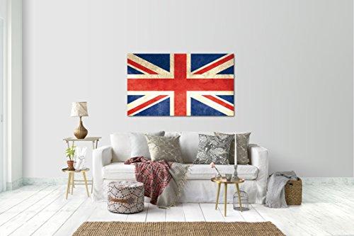 Wandtattoo Wandsticker Aufkleber London Flagge Grösse: 120 x 70 cm