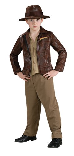ids Indiana Jonesvie Costume M Boys Medium (5-7 years) by Rubie's Costume Co (Boy George Kostüm Halloween)