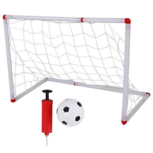 Alomejor Kinder Fußballnetz Mini Outdoor Indoor Kinder Fußball Tore Ballnetz