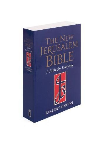 NJB Reader's Edition Paperback Bible: NJB Reader's Bible (New Jerusalem Bible)